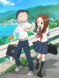 TV anime Karakai Jouzu no Takagi-san (Takagi-san is good at teasing) Visual