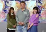 CLAMP's Cardcaptor Sakura Clear Card Anime | From left: Motoko Kumai (voice of Syaoran), director Asaka, Sakura Tange (voice of Sakura)