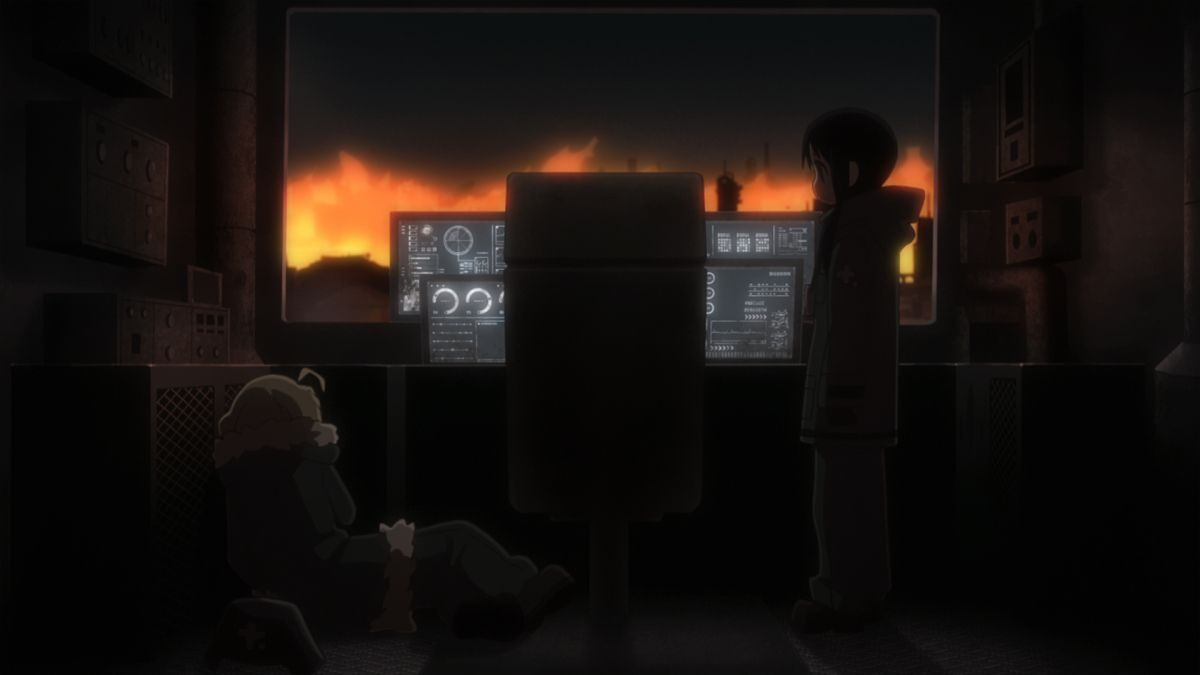 Girls' Last Tour Episode 11 Official Anime Screenshot
