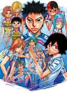 Yowamushi Pedal Stage Play Illustration