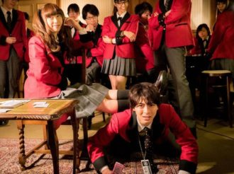 Kakegurui First Episode Impressions With Two Beauties and a Human Footstool