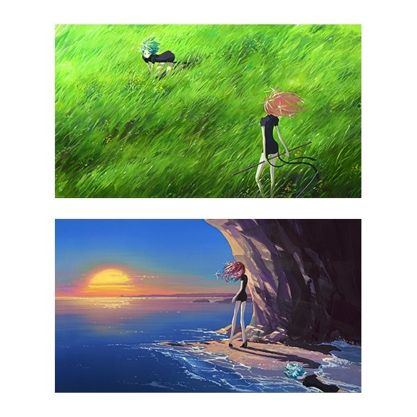 From the TV anime Land of the Lustrous's concept art set