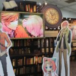Animate Girls Festival 2017 | This pretty booth is for the upcoming smartphone game Library Cross Infinate