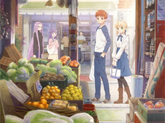 Fate Spin-off About Cosy Home-Cooking with Shirou and Saber Gets Web Anime