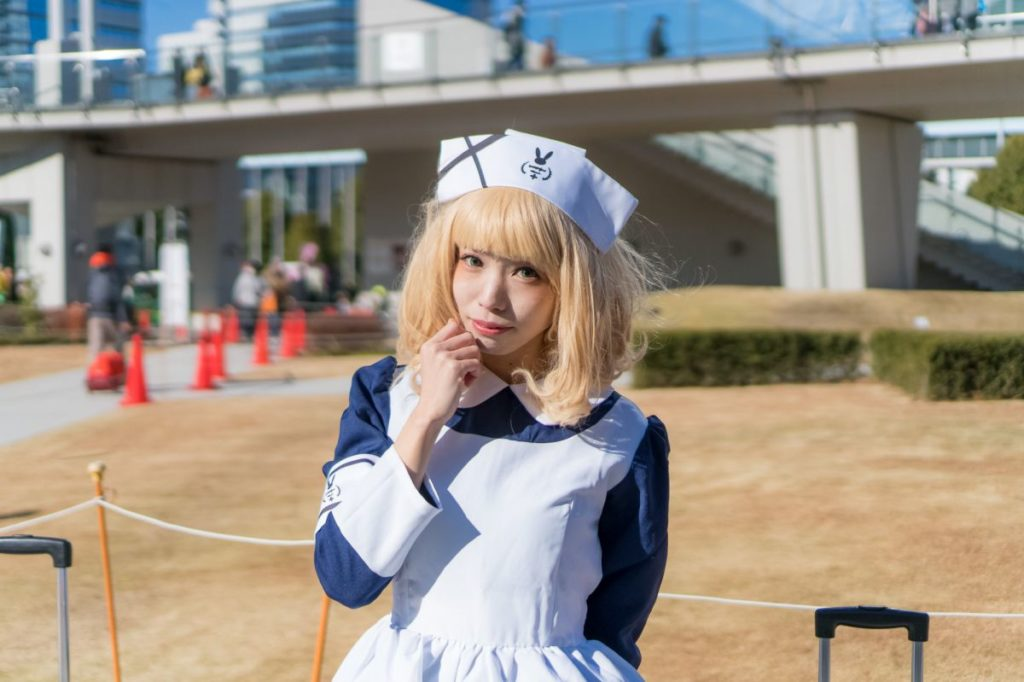 Cosplay from Comic Market 93 | Sharo from Is the Order a Rabbit?