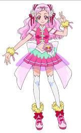 Hana Nono/Cure Yell | Pretty Cure HUGtto Anime |
