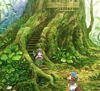 Hakumei and Mikochi: Tiny little life in the woods Anime Visual
