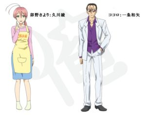 Character sketches from Spring 2018 Anime Magical Girl ORE (Mahou Shoujo Ore)
