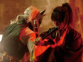 Donten ni Warau Live Action Shows Off Action-Packed Fights and Characters' Charms