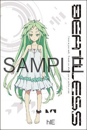 Beatless x Cure Maid Cafe Postcard 2