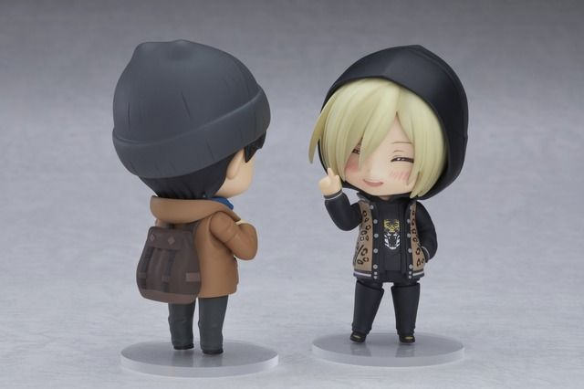 Yuri Plisetsky and Yuri Katsuki from Yuri on Ice | Nendoroid Figure