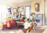 Jikken-hin Kazoku: Creatures Family Days Anime Key Visual