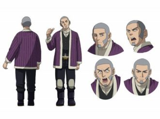 Golden Kamuy Reveals Cast and Character Design for Escape King Shiraishi