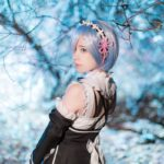 Cosplay: supermk33 as Rem from 'Re:Zero − Starting Life in Another World'