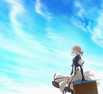 Violet Evergarden Anime Visual