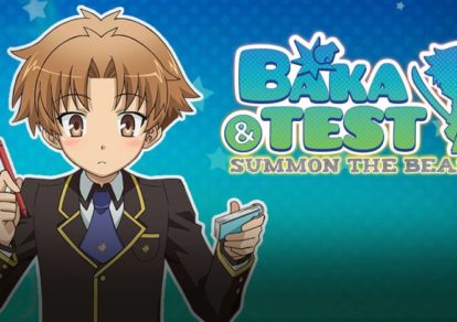 Baka and Test: Summon the Beasts Anime Banner