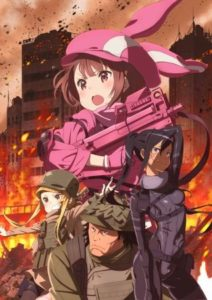 SAO Spin-off | Gun Gale Online | Anime