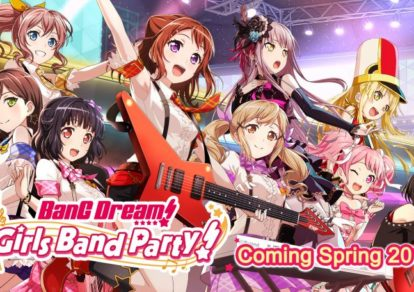 Japanese Smartphone Game BanG Dream! Girls Band Party!