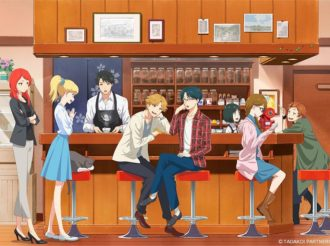 Tada-kun wa Koi wo Shinai Introduces 8 Characters and Cat