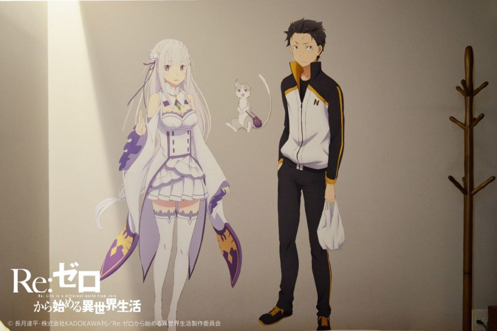 GRIDS Akihabara Re:Zero Anime Room Wall Decals