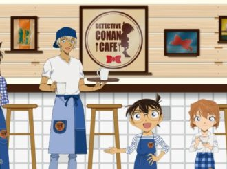 Detective Conan Fans Watch Out! Cafe to Open From April!