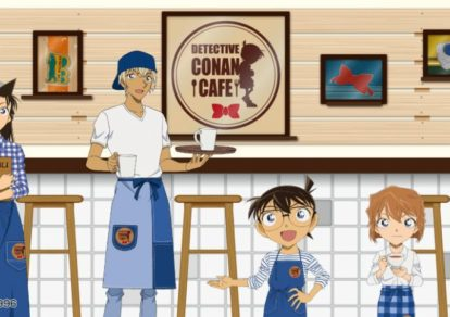 Detective Conan Cafe 2018 | Visual