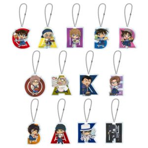 Merchandise from Detective Conan Cafe 2018