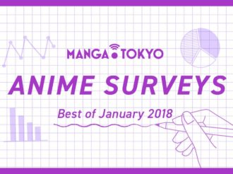 MT Anime Surveys: Best of January 2018