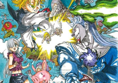 The Seven Deadly Sins - Prisoners of the Sky (Nanatsu no Taizai Tenkuu no Toraware Hito) Anime Movie