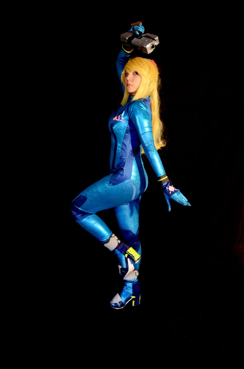 Zero Suit Samus from Super Smash Bros. 4 | Gioka Cosplay | MANGA.TOKYO World Cosplayer