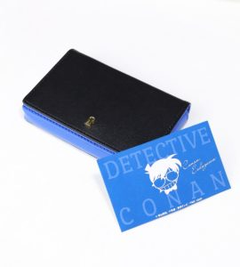 Detective Conan Leather Card Case | Anime Merchandise Monday | MANGA.TOKYO©青山剛昌/小学館・読売テレビ・TMS 1996