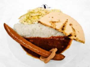 'Overlord II' Cafe Ainz' Curry with Shinken Sword 1,400 yen | Overlord x Cure Maid Cafe Anime Collaboration | Themed Cafe