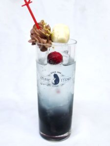 'Overlord II' Cafe Special Drink Ainz 500 yen (+tax) | Overlord x Cure Maid Cafe Anime Collaboration | Themed Cafe