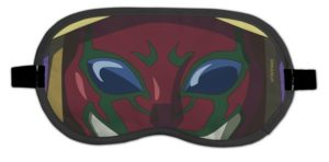 'Overlord II' Cafe Ainz's Eyemask 1,200 yen (+tax) | Overlord x Cure Maid Cafe Anime Collaboration | Themed Cafe