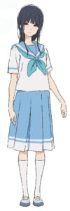 Mizore Yoroizuka from anime movie Liz and the Blue Bird ©武田綾乃・宝島社/『響け!』製作委員会
