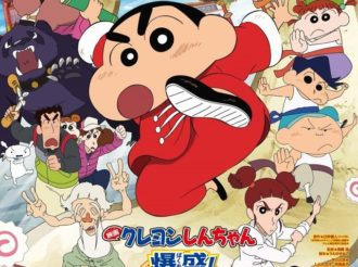 Crayon Shin-chan Movie Characters Gather in Poster & PV with Momoiro Clover Theme