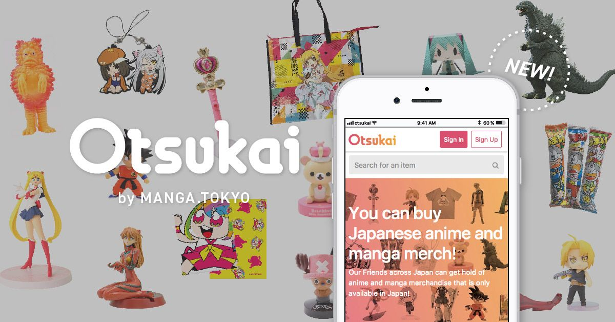 Otsukai - A new proxy-buying service by MANGA.TOKYO. | Buy anime and manga items from Japan, delivered straight to your door. ^^