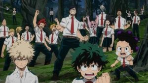 From the PV for the 3rd anime season of My Hero Academia