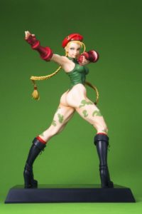 Cammy Figure | Game Street Fighter ©CAPCOM U.S.A., INC. ALL RIGHTS RESERVED. This product is manufactured and sold by KOTOBUKIYA utilizing Capcom U.S.A.'s intellectual property, under license by CAPCOM U.S.A.