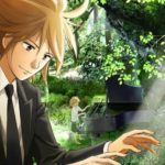 The Piano Forest Anime Visual