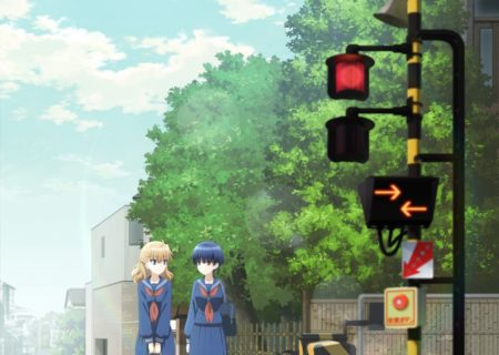 Upcoming TV anime Fumikiri Jikan (lit. Railroad Crossing Time) Anime Visual