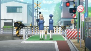 Upcoming TV anime Fumikiri Jikan (lit. Railroad Crossing Time) Official Anime Screenshot