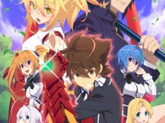 High School DxD Reveals New Key Visual and Introduces Characters