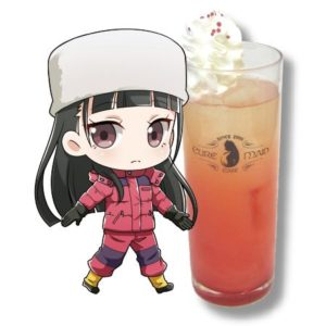 Shirase Kobuchizawa Drink | Sora Yorimo Tooi Basho x Cure Maid Cafe Collaboration Anime Themed Cafe
