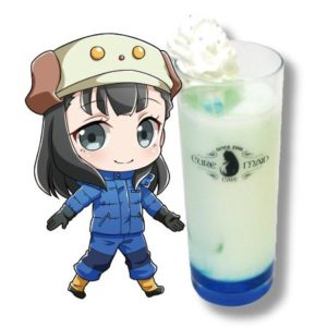 Yuzuki Shiraishi Drink | Sora Yorimo Tooi Basho x Cure Maid Cafe Collaboration Anime Themed Cafe
