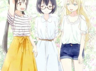 Asobi Asobase Announced for July, Introduces Main Characters