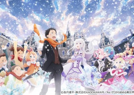 Anime OVA Re:Zero Starting Live in Another World - Memory Snow