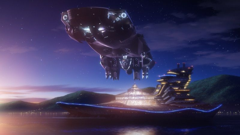 The Legend of the Galactic Heroes Episode 1 Official Anime Screenshot