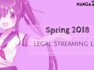 Spring 2018 Anime: Legal Streaming List