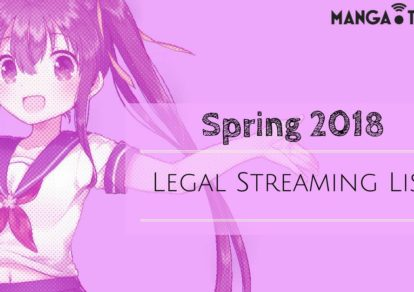 Spring 2018 Anime: Legal Streaming List | MANGA.TOKYO